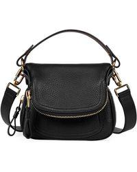 Tom Ford - Jennifer Small Grained Leather Shoulder Bag - Lyst