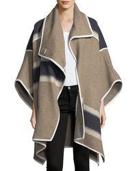 Veronica Beard - Wolfe Wool Blanket Cape - Lyst