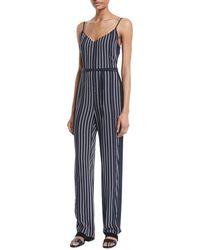 Rag & Bone - Rosa Striped Straight-leg Jumpsuit - Lyst
