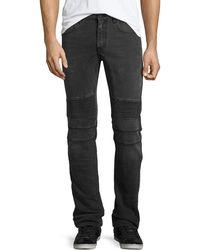 Belstaff - Eastham Moto-style Slim-fit Jeans - Lyst