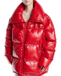 CALVIN KLEIN 205W39NYC - Zip-front Quilted Puffer Jacket - Lyst
