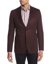 Brioni - Cashmere-silk Two-button Blazer - Lyst