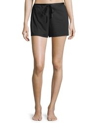 Natori | Bliss Cotton Lounge Shorts | Lyst