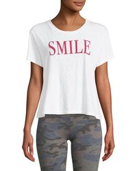 Sundry - Smile Vintage Graphic Tee - Lyst