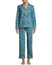Desmond & Dempsey - Bocas Classic Pajama Set - Lyst