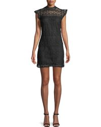 Cupcakes And Cashmere - Delight Sleeveless Lace Sheath Dress - Lyst