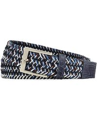 W. Kleinberg - Men's Sport Stretch Belt With Crocodile-trim - Lyst