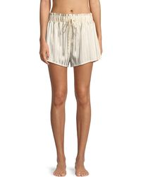 Morgan Lane - Rickie Marle Stripe Pajama Shorts - Lyst