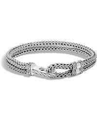 John Hardy - Men's Double Classic Chain Hook Bracelet - Lyst