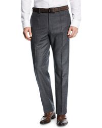 Incotex - Benson Micro-fancy Flannel Pants - Lyst