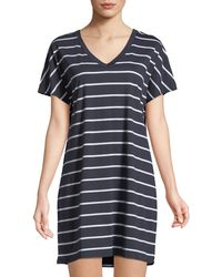 Hanro - Laura Short-sleeve Sleepshirt - Lyst