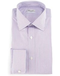 Charvet - Check Barrel-cuff Dress Shirt - Lyst