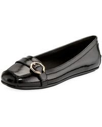 Cole Haan - Demi Patent Flat Driver - Lyst