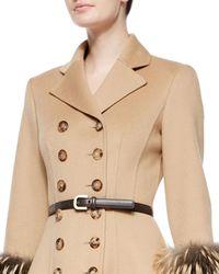 Michael Kors - Skinny Leather Belt - Lyst