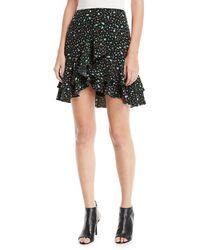 Club Monaco - Ampey Floral-print Mini Skirt - Lyst