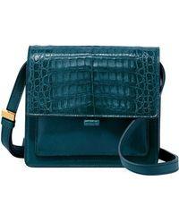 Nancy Gonzalez - Gili Crocodile/leather Crossbody Bag - Lyst