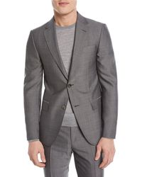 Z Zegna - Tic Wool Two-piece Suit - Lyst