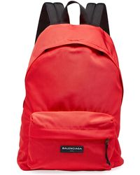 Balenciaga   Men's Solid Canvas Backpack   Lyst