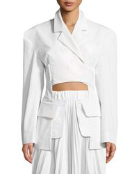Awake - Deconstructed One-button Blazer - Lyst