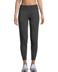 Beyond Yoga - Cozy Fleece Fold-over Jogger Sweatpants - Lyst
