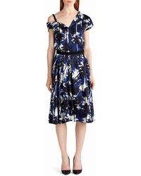 Jason Wu - Pop Palm-print Skirt - Lyst