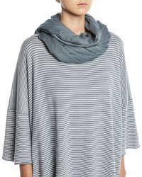 Eskandar - Large Fine-knit Cashmere Scarf - Lyst