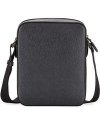 Ferragamo - Men's Revival Men's Leather Crossbody Bag - Lyst