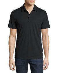 Michael Kors - Mk Sleek Cotton Polo Shirt - Lyst