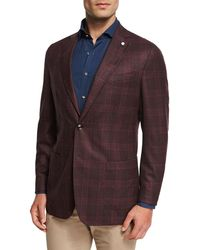 Peter Millar - Collection Glen Windowpane Soft Jacket - Lyst