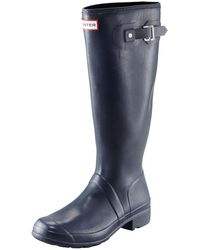 HUNTER - Original Tour Buckled Welly Boot - Lyst