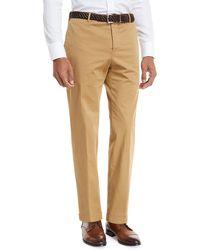 Zanella - Garment-dyed Stretch-poplin Pants - Lyst