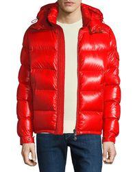 839d21d7d5ff czech moncler black fur hooded jacket mens brook 88ef6 1f01b
