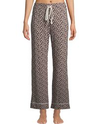 Cosabella - Chayne Floral Striped Lounge Pants - Lyst