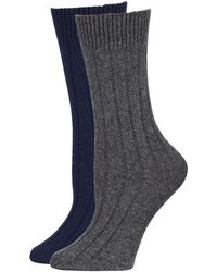 Neiman Marcus - Cashmere Socks In Gift Box - Lyst