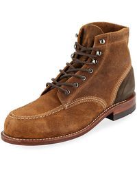 Wolverine - Men's 1000 Mile Rugged Waxy Suede Boots - Lyst