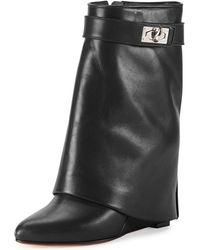 Givenchy | Shark-tooth Pant-leg Bootie | Lyst