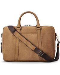 Shinola - Men's Outrigger Slim Leather Laptop Briefcase - Lyst