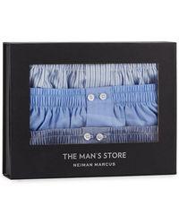 Neiman Marcus - Men's 3-pack Cotton Boxers - Lyst