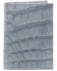 Neiman Marcus - Alligator Flip Card Case - Lyst
