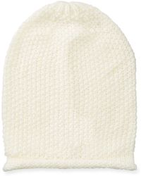 Rebecca Minkoff - Simple Solid Slouchy Beanie Hat - Lyst