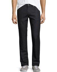 6edccfb1 J Brand - Men's Kane Straight-leg Pima Cotton-blend Jeans Hood - Lyst