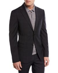 Z Zegna - Drop 8 Subtle Check Two-piece Wool Suit - Lyst