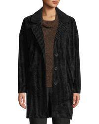 Eileen Fisher - Wide Wale Corduroy Coat - Lyst