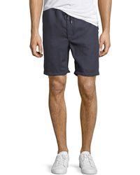 Derek Rose - Sydney Linen Shorts - Lyst