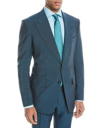 Tom Ford | Textured Wool-blend Two-piece Suit | Lyst