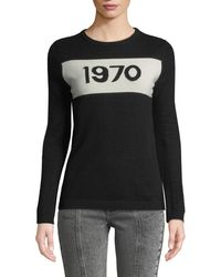Bella Freud - 1970 Graphic Pullover Sweater - Lyst