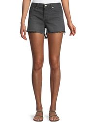 Levi's Premium - Wedgie High-rise Denim Cutoff Shorts - Lyst