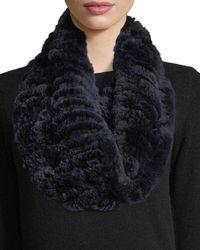 Neiman Marcus | Luxury Rabbit Fur Snood | Lyst