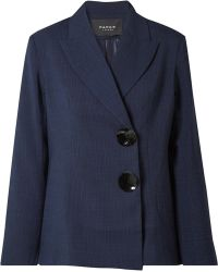 Paper London - Checked Voile Blazer - Lyst