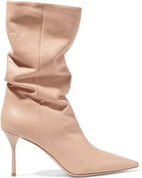 Miu Miu - Leather Boots - Lyst